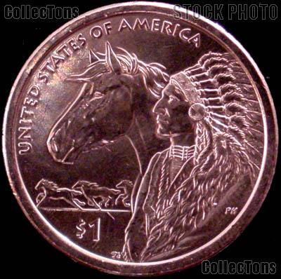 2012-P Native American Dollar BU 2012 Sacagawea Dollar SAC