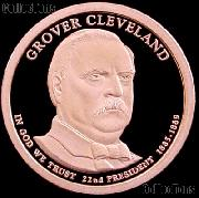 2012-S Grover Cleveland 1885 Presidential Dollar GEM PROOF Coin