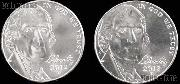 2012 P & D Jefferson Nickels Gem BU (Brilliant Uncirculated)