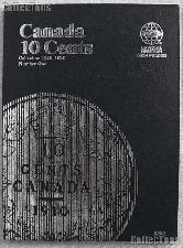 Whitman Canada 10 Cents Folder 1858-1936 #3202