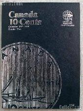Whitman Canada 10 Cents Folder 1937-1989 #3203