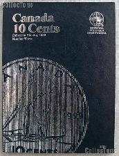 Whitman Canada 10 Cents Folder Starting 1990 #3204