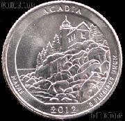 2012-D Maine Acadia National Park Quarter GEM BU America the Beautiful
