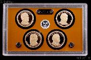 2012 U.S. Mint Presidential Dollar Proof Set - 4 Coins
