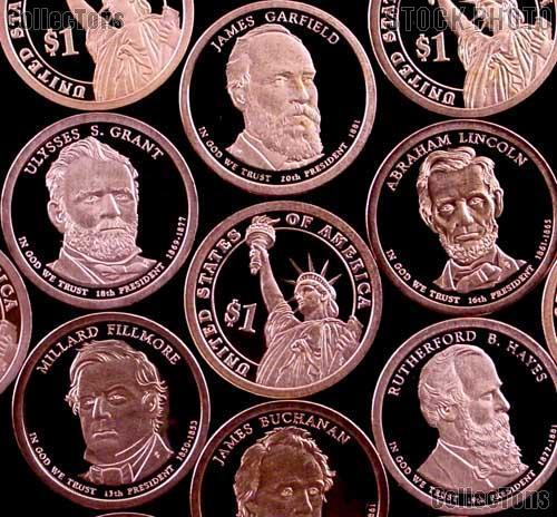 Random Pick Presidential PROOF Dollar