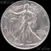 1943-S Walking Liberty Silver Half Dollar * Choice BU 1943 Walker