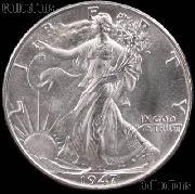 1947 Walking Liberty Silver Half Dollar * Choice BU 1947 Walker