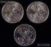 2012 P, D, & S Puerto Rico El Yunque National Park Quarters GEM BU America the Beautiful