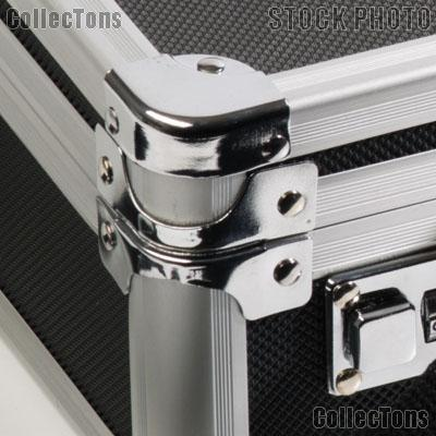 Coin Case Aluminum Briefcase for Coin Trays by Lighthouse