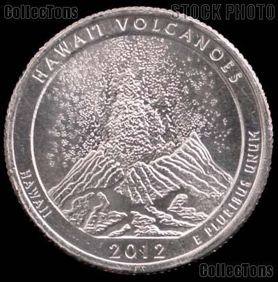 2012-P Hawaii Volcanoes National Park Quarter GEM BU America the Beautiful