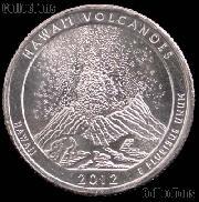 2012-D Hawaii Volcanoes National Park Quarter GEM BU America the Beautiful