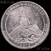 2012-S Hawaii Volcanoes National Park Quarter GEM BU America the Beautiful