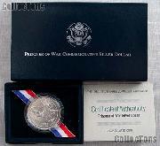 1994-W U.S. Prisoner of War Commemorative Uncirculated Silver Dollar