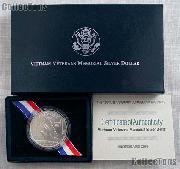 1994-W Vietnam Veterans Memorial Commemorative Silver Dollar Uncirculated