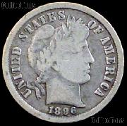 1896 Barber Dime G-4 or Better Liberty Head Dime