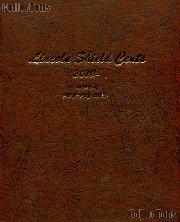 Dansco Lincoln Shield Cents Album w/ Proof 2010 - Date # 8104