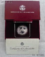1988-S Seoul Olympiad US Olympic Commemorative Proof Silver Dollar