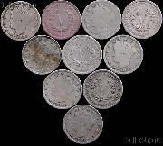 1883 No Cents Liberty Head V Nickel - Better Date Filler