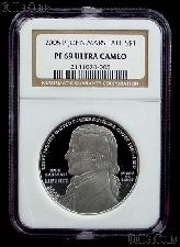 2005-P Chief Justice John Marshall Silver Commemorative PROOF Dollar in NGC PF 69 ULTRA CAMEO