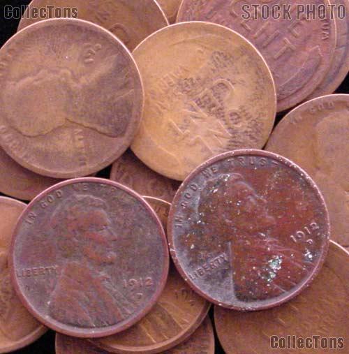1912-D Lincoln Wheat Cent BETTER DATE Filler