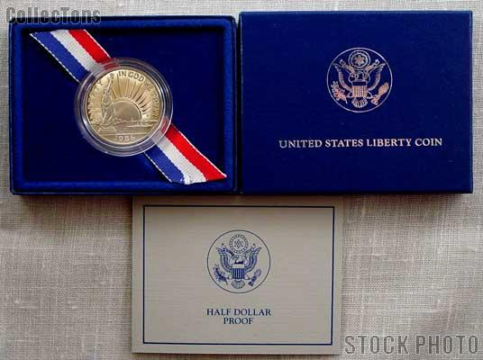 1986-S Statue of Liberty Commemorative PROOF Clad Half Dollar