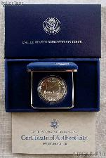 1987-P United States Constitution Bicentennial Commemorative Uncirculated Silver Dollar