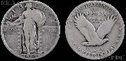 Standing Liberty Quarter 1917-1930 Variety 2