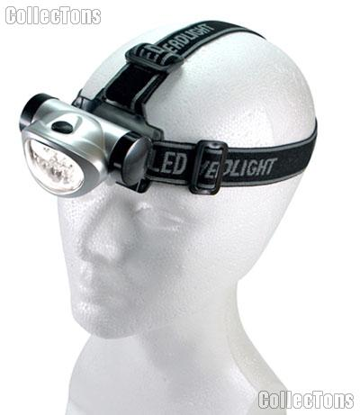 Headlamp 8 LED Head Lamp with 4 Settings