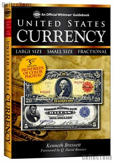 Official Whitman Guidebook United States Currency 5th Edition (Red Book) by Bressett