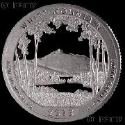 2013-S New Hampshire White Mountain National Park Quarter GEM SILVER PROOF America the Beautiful