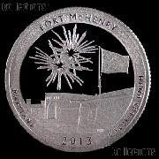 2013-S Maryland Fort McHenry National Park Quarter GEM PROOF America the Beautiful