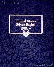 Silver Eagles 1986-2008 Whitman Classic Album #3395 w/ extra ports