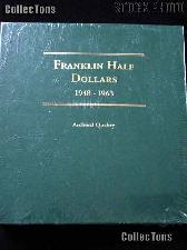 Littleton Franklin Half Dollars 1948-1963 Album LCA6
