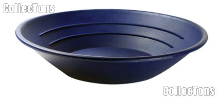 "Gold Pan 10"" Gold Panning Equipment for Prospecting, Blue"