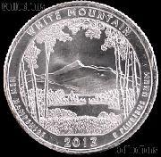 2013-P New Hampshire White Mountain National Park Quarter GEM BU America the Beautiful