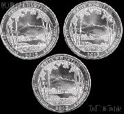 2013 P, D, & S New Hampshire White Mountain National Park Quarters GEM BU America the Beautiful