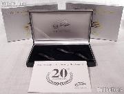 2006 American Eagle 20th Anniversary Silver Coin Set OGP Replacement Box and COA