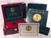 2009 Ultra High Relief Double Eagle Gold Coin OGP Replacement Box and COA