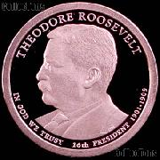 2013-S Theodore Roosevelt Presidential Dollar GEM PROOF Coin