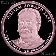 2013-S William Howard Taft Presidential Dollar GEM PROOF Coin