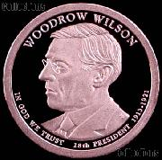2013-S Woodrow Wilson Presidential Dollar GEM PROOF Coin