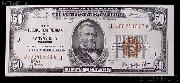 Fifty Dollar Bill Federal Reserve Bank Note Brown Seal US Currency Good or Better