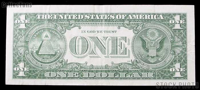 One Dollar Bill Silver Certificate STAR NOTE Series 1957 US Currency Good or Better