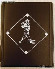 Baseball Card Album 4 Pocket Pages Black By Bcw Team Set Folder