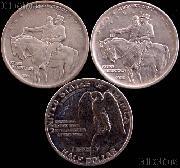 1925 Stone Mountain Memorial Silver Commemorative Half Dollar