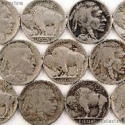 1914 Buffalo Nickel BETTER DATE Filler