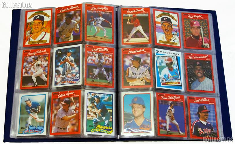 Sports Card Collecting Starter Set / Kit MLB, NFL, NBA, NHL with 12 Sports Card Packs & Album
