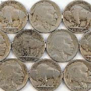 1916 Buffalo Nickel BETTER DATE Filler