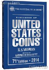 Whitman Blue Book United States Coins 2014 - Hard Cover