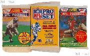 Football Cards NFL 3 Different Sealed Packs of Trading Cards